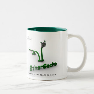 EtherGeckoMug Two-Tone Coffee Mug
