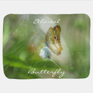 Etherial Butterfly Throw Blanket