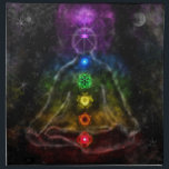 """ETHERIC AURA CHAKRA CLOTH NAPKIN<br><div class=""""desc"""">ELABORATE AND SUBTLE PICTURE OF A GUY WITH A CHAKRA</div>"""