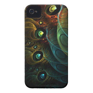 Etheric Multi-Dimension - Blackberry - Barely Ther iPhone 4 Cover