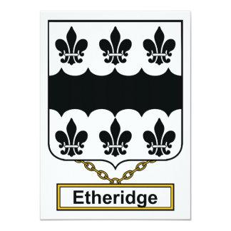 Etheridge Family Crest Card