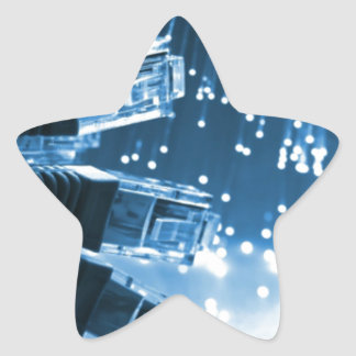 Ethernet Connector Star Sticker