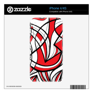 Ethical Refreshing Warmhearted Reassuring Decals For The iPhone 4S