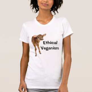 ETHICAL VEGANISM T-SHIRT featuring calf