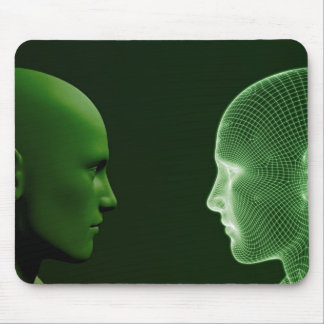 Ethics in Technology as a Digital Concept Mouse Pad