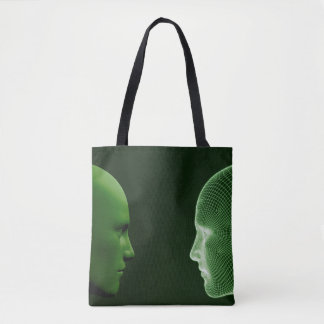 Ethics in Technology as a Digital Concept Tote Bag