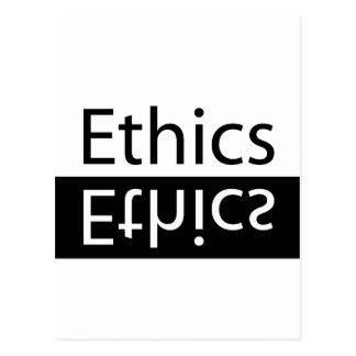 ETHICS POSTCARD