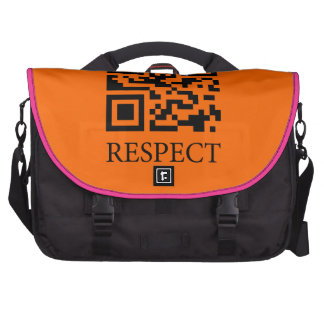 Ethics: Repsect Free Will Laptop Commuter Bag