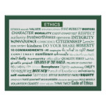 """Ethics Word Poster"""