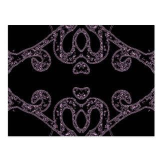 Ethinic dark pattern postcard