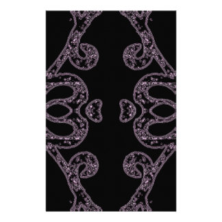 Ethinic dark pattern stationery