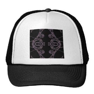 Ethinic dark pattern trucker hat