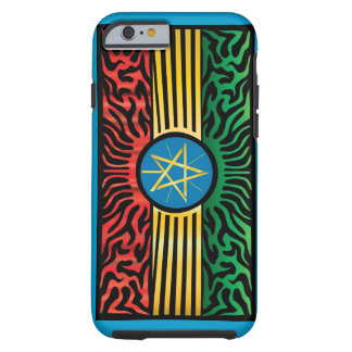 Ethiopia Abstract Tough iPhone 6 Case