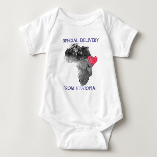 Ethiopia Adoption Baby Bodysuit