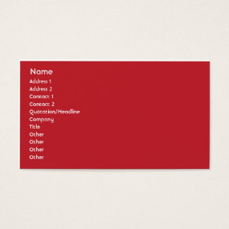 Ethiopia - Business Business Card