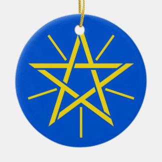 ETHIOPIA*-  Ceramic Christmas Ornament Christmas Tree Ornament