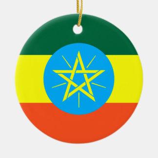 Ethiopia Ceramic Ornament