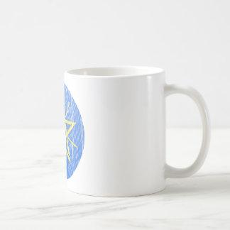 Ethiopia Coat Of Arms Classic White Coffee Mug