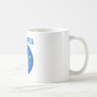Ethiopia Coat Of Arms Designs Classic White Coffee Mug