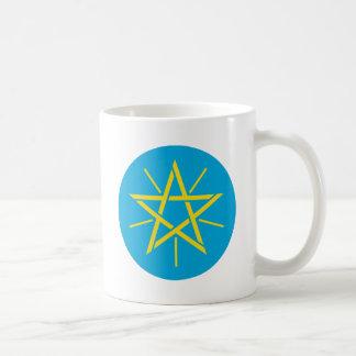 Ethiopia Coat of Arms detail Classic White Coffee Mug