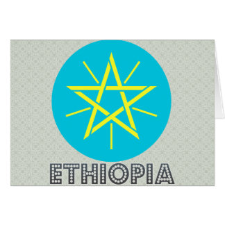 Ethiopia Coat of Arms Greeting Card
