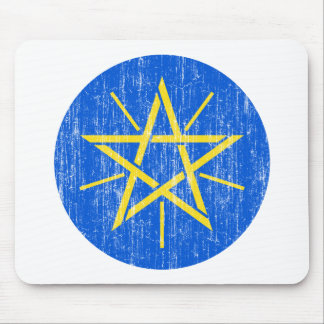 Ethiopia Coat Of Arms Mouse Pad