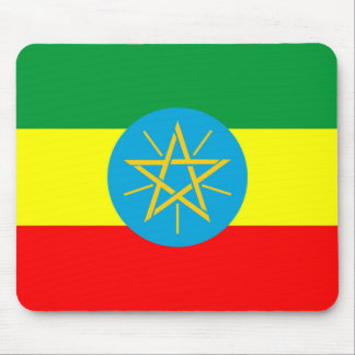 ethiopia country flag long symbol mouse pad