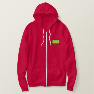 Ethiopia Embroidered Hoodie