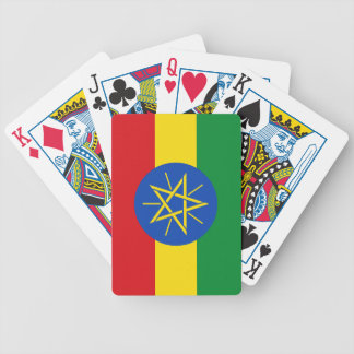 Ethiopia – Ethiopian Flag Bicycle Playing Cards