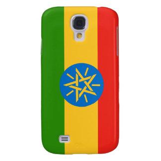 Ethiopia Ethiopian nation flag  Galaxy S4 Case