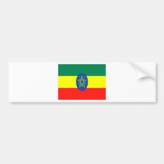 Ethiopia faith and hope bumper sticker