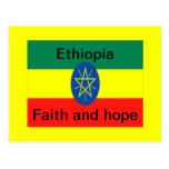 Ethiopia faith and hope postcard
