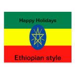 Ethiopia faith and hope postcards