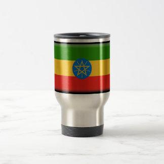 Ethiopia Flag 15 Oz Stainless Steel Travel Mug