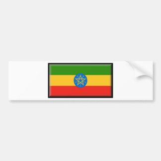 Ethiopia Flag Bumper Stickers
