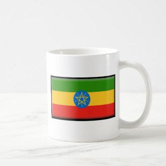 Ethiopia Flag Classic White Coffee Mug