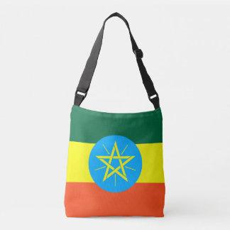 Ethiopia Flag Crossbody Bag