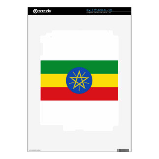 Ethiopia Flag Decals For The iPad 2