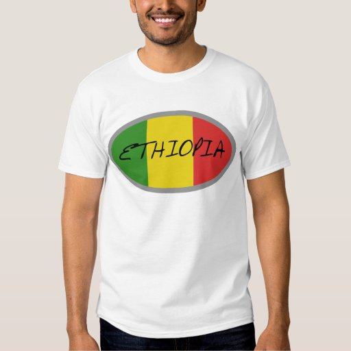 Ethiopia flag design! shirts