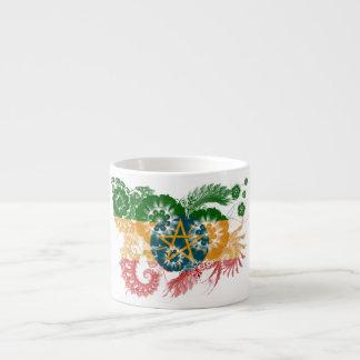 Ethiopia Flag Espresso Cup