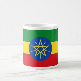 Ethiopia Flag ET Classic White Coffee Mug