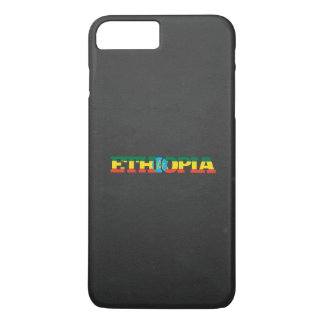 Ethiopia flag font iPhone 7 plus case