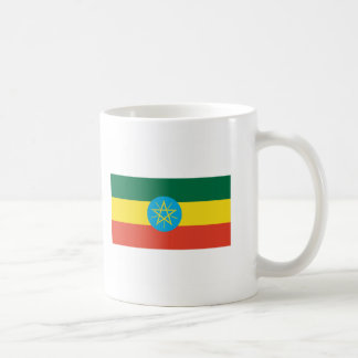 Ethiopia FLAG International Coffee Mug