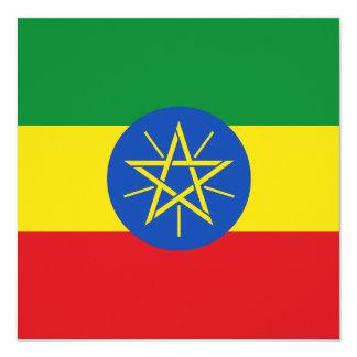Ethiopia Flag Invitation