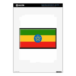 Ethiopia Flag iPad 3 Decal