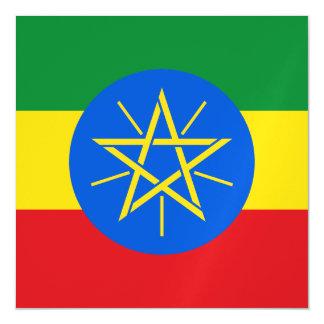 Ethiopia Flag Magnetic Card