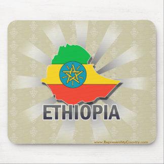 Ethiopia Flag Map 2.0 Mouse Pad