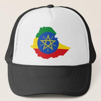 Ethiopia Flag Map ET Trucker Hat