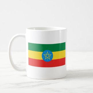 Ethiopia Flag ~ Map Mug
