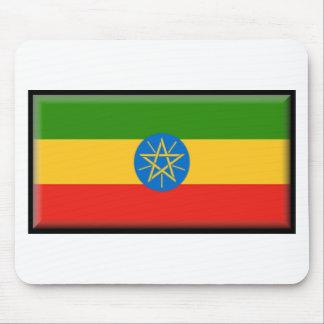 Ethiopia Flag Mouse Pad